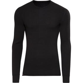 Woolpower 200 Crewneck Heren, black